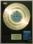 STATUS QUO  -  LP Platinum Disc   - BLUE FOR YOU